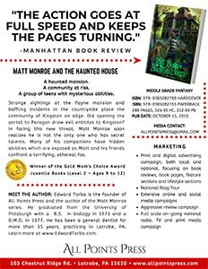 Matt Monroe and the Haunted House Sell Sheet