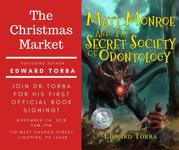 Ligonier, PA Christmas Market book signing