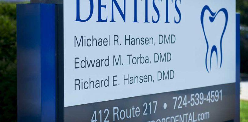 Ed Torba Dentist Sign
