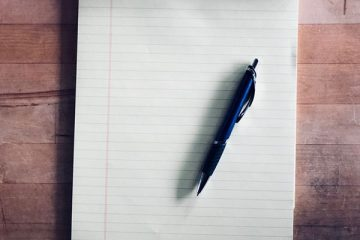 Pen and a notepad